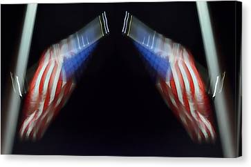 Order From Disorder Canvas Print - What Supports Your Liberty? 2013 by James Warren
