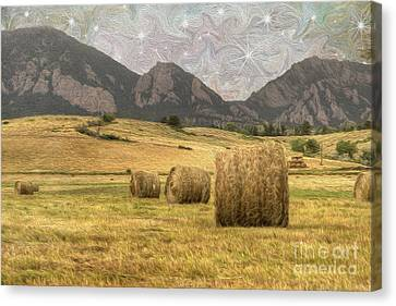 What The Hay Canvas Print