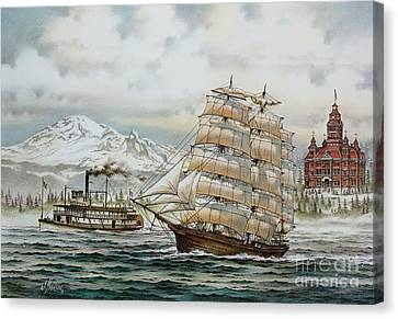 Whatcom Heritage Canvas Print by James Williamson