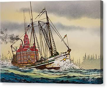 Whatcom Maritime Canvas Print by James Williamson
