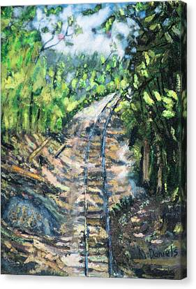 What's Around The Bend? Canvas Print by Michael Daniels