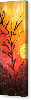 Wheat Canvas Print by Doris Cohen