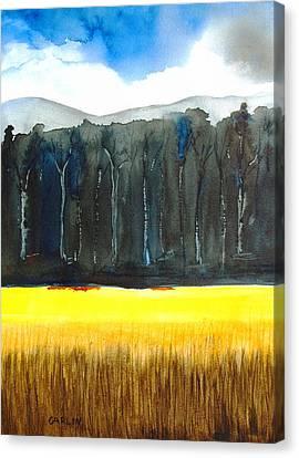 Wheat Field 2 Canvas Print by Carlin Blahnik