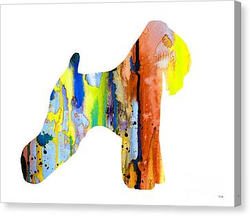 Wheaten Terrier 2 Canvas Print