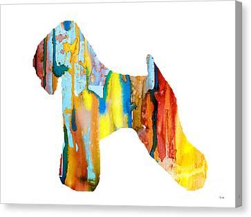 Wheaten Terrier 3 Canvas Print