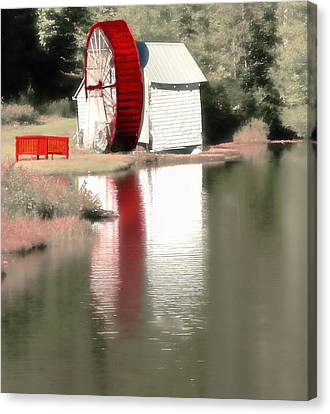 Wheel House Canvas Print
