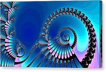 Wheel Of Fortune Canvas Print by Anastasiya Malakhova