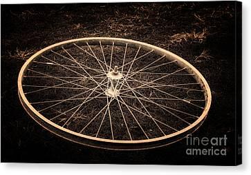 Wheel Canvas Print by Sinisa Botas