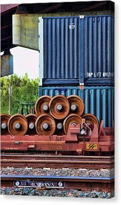 Wheel Stack II Canvas Print