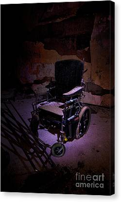 Landmark Canvas Print - Wheelchair by Mark Baker