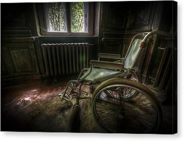 Wheelchair View Canvas Print by Nathan Wright