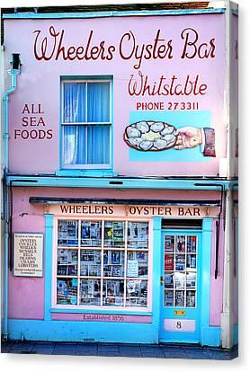 Wheelers Oyster Bar Canvas Print by Mark Rogan