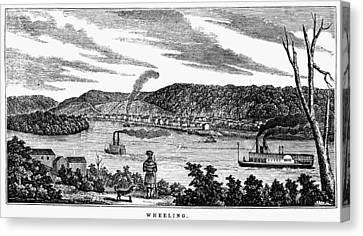 Wheeling, West Virginia Canvas Print by Granger