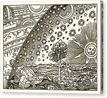 Wheels Of The Universe Canvas Print