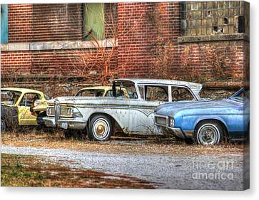 Wheels Canvas Print by Thomas Danilovich