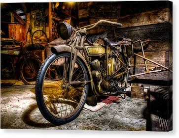 Wheels Through Time 7 Canvas Print