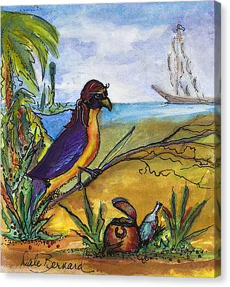When Birds Of Paradise Go Bad Canvas Print by Dale Bernard