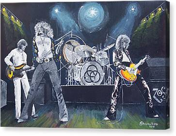 When Giants Rocked The Earth Canvas Print by Bruce Schmalfuss