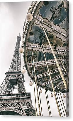 When I Dream Of Paris Canvas Print