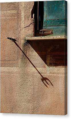 Venetian Blinds Canvas Print - When It's Alright.. by A Rey