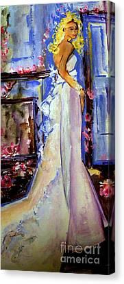 When Lovely Women Canvas Print by Helena Bebirian