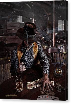 When Smoking In Bars Was Still Legal Canvas Print