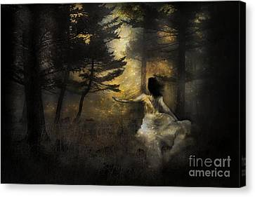 When The Forest Calls Canvas Print