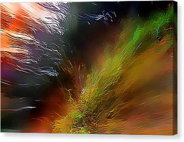 When The Light Burned Canvas Print by Wernher Krutein