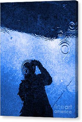 When The Rain Comes Canvas Print by Robyn King