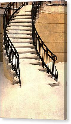 When The Winter Comes Canvas Print by Jaroslaw Blaminsky