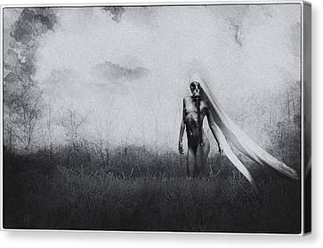 When There's No Place Left To Go Canvas Print by Hazel Billingsley