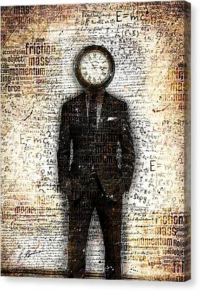 Time Standing Still Canvas Print by Gary Bodnar