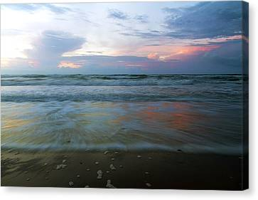 Topsail Island Canvas Print - When Time Stood Still by Betsy Knapp