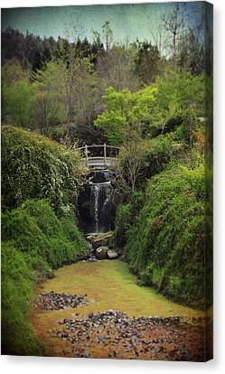 Lush Foliage Canvas Print - When Too Many Tears Have Fallen by Laurie Search
