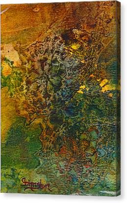 When You Least Expect It Canvas Print by Cindy Johnston
