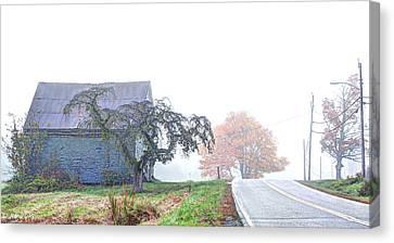 When You Take A Drive Canvas Print by Richard Bean