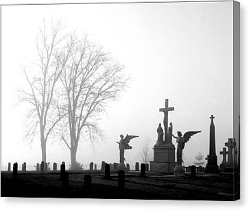 Where Angels Watch Canvas Print
