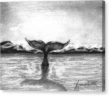 Where Can I Go Canvas Print by J Ferwerda