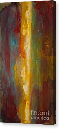 Where Colors Collide Canvas Print by Todd Karleskein