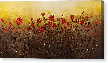 Where Happiness Grows Canvas Print by Carmen Guedez