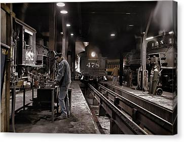 Where Is My Hammer Canvas Print by Ken Smith