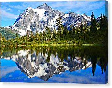 Canvas Print featuring the photograph Where Is Up And Where Is Down by Eti Reid