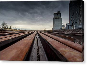 Where It Goes-2 Canvas Print by Fran Riley