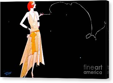 Where There's Smoke 1920 Canvas Print by Padre Art