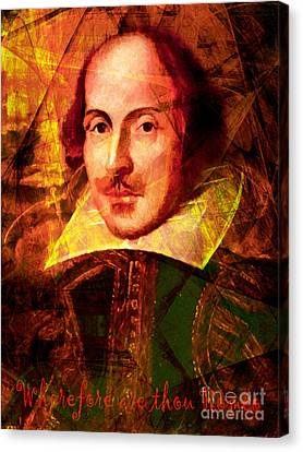 Wherefore Are Thou Romeo 20140122 Canvas Print by Wingsdomain Art and Photography