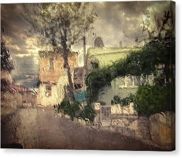 Wherever I Go Canvas Print by Taylan Apukovska