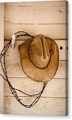 Wherever I Lay My Hat Canvas Print by Peter Tellone