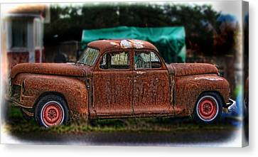 Which Way Canvas Print by Ron Roberts