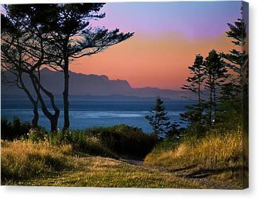 Whidbey Island Sundown Canvas Print