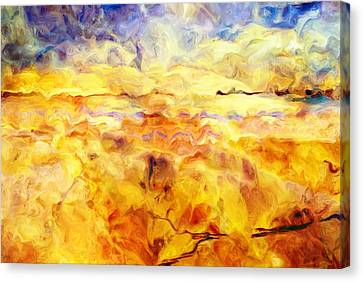 While Taking A Walk Canvas Print by Jack Zulli